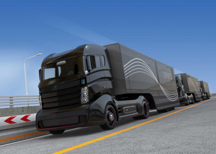 Autonomous trucks on open highway