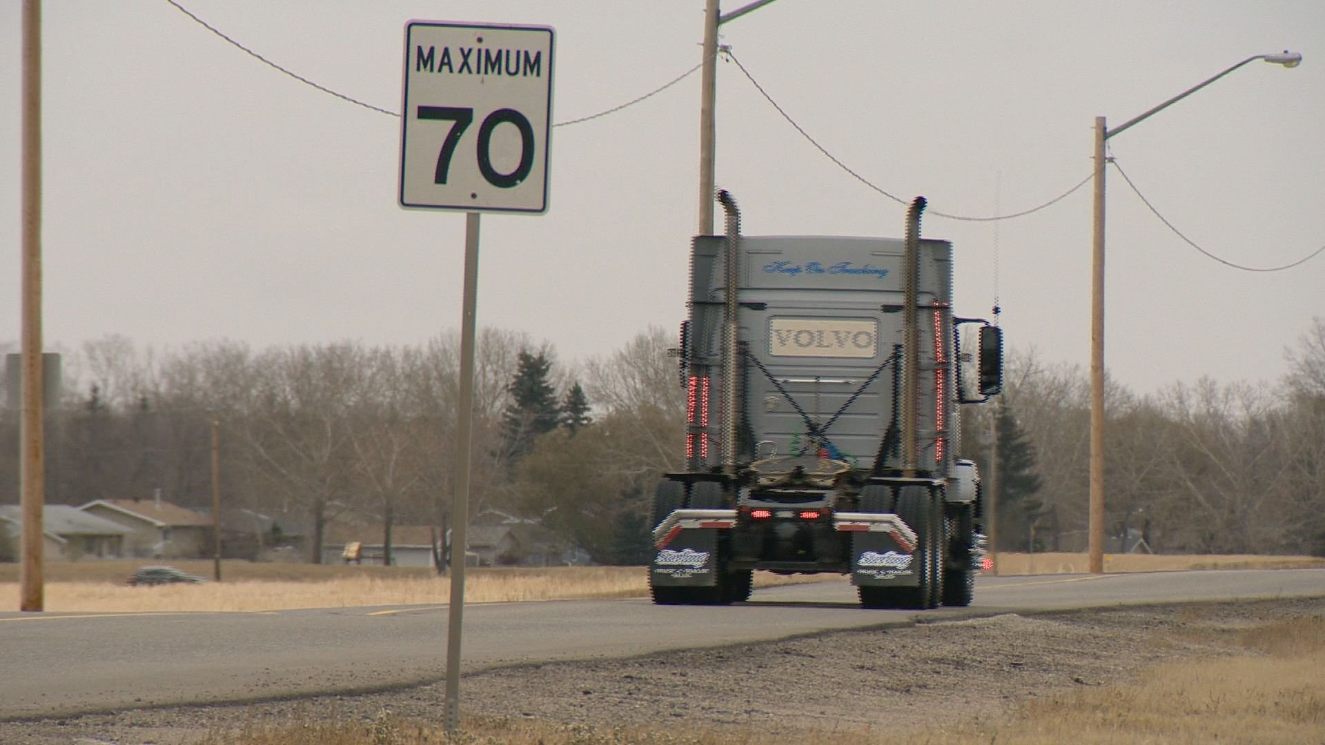 The Saskatchewan Trucking Association has said they're losing the route will result in lost efficiency and increased costs.